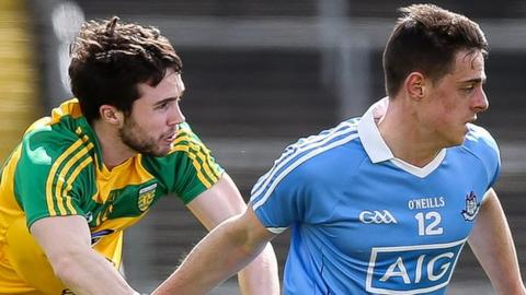 Donegal were outplayed by Dublin in the All-Ireland Under-21 semi-finals