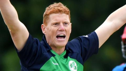 Kevin O'Brien of Ireland