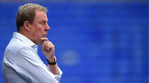 Birmingham manager Harry Redknapp