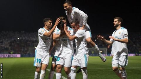 Zidane praises Real Madrid's patience after Copa del Rey win over Fuenlabrada