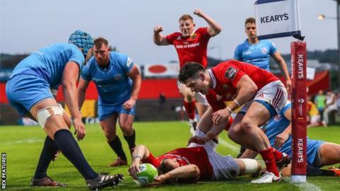 Munster A v Jersey Reds