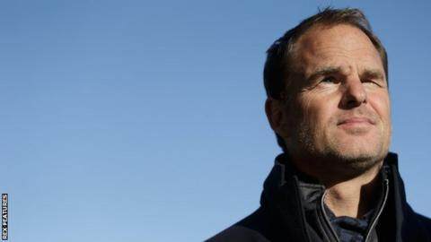 De Boer in pole for Palace job