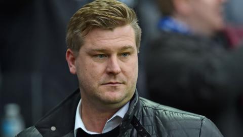 New Charlton manager Karl Robinson