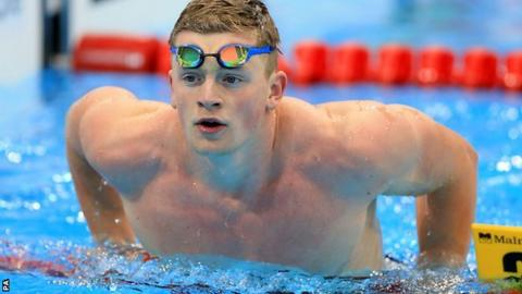 Adam Peaty european swimming championships