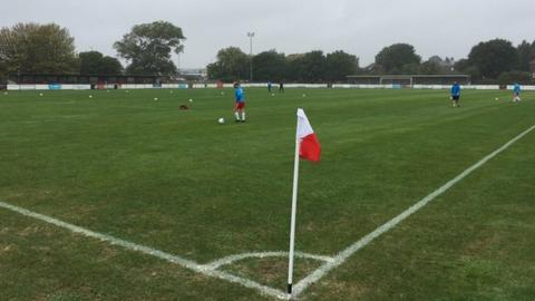 Poole Town's Tatnam Recreation Ground