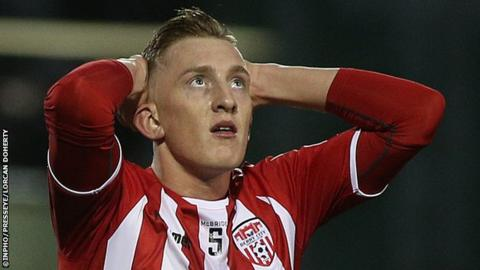 Ronan Curtis and the other Derry strikers are being urged to improve their strike rate