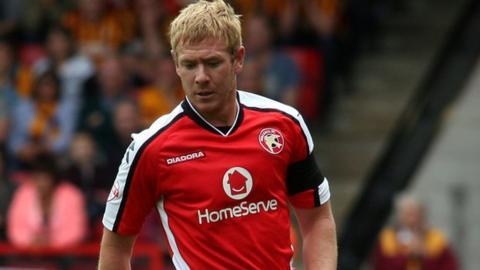 Dean Holden made 34 appearances as a player for Walsall, the last of his nine clubs