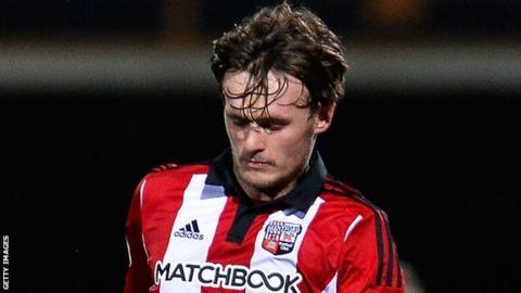 John Swift of Brentford FC