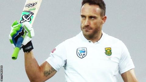 Du Plessis to miss Lord's Test