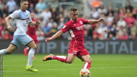 Lee Johnson's Bristol City are one of the four sides to have beaten Aston Villa this season, at Ashton Gate in August