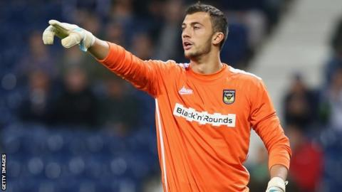 UK: Goalkeeper sent off for urinating