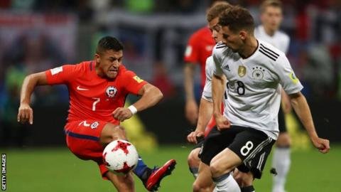 Stindl goal gives Germany win over Chile and first Confed Cup title