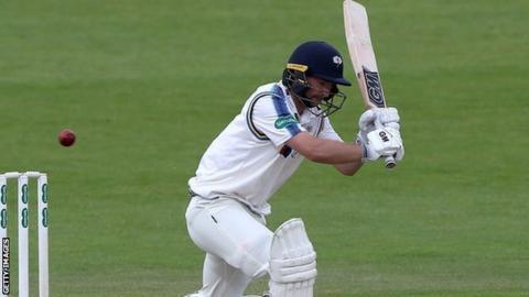Yorkshire's seven-times capped England opening batsman Adam Lyth