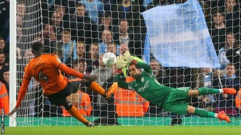 Manchester City v Wolves