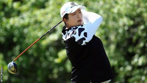 US Women's Open: China's Feng up by a shot after 1st round