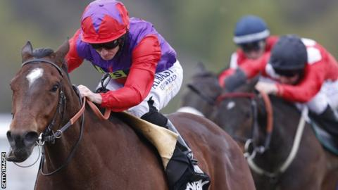 Ryan Moore wins on Convey