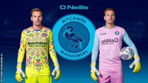 Wycombe goalkeeper kits