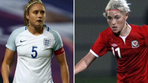 Steph Houghton (left) and Jess Fishlock