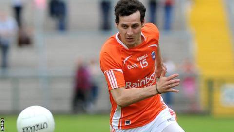 Jamie Clarke impressed with a tally of 1-3 in Armagh's victory against Louth on Sunday