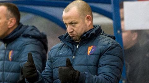 East Kilbride manager Martin Lauchlan