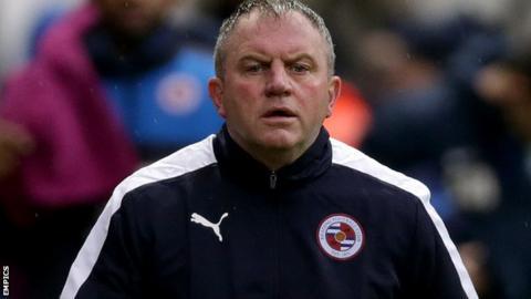 Reading caretaker manager Martin Kuhl