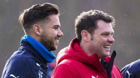 Harry Forrester and Graeme Murty