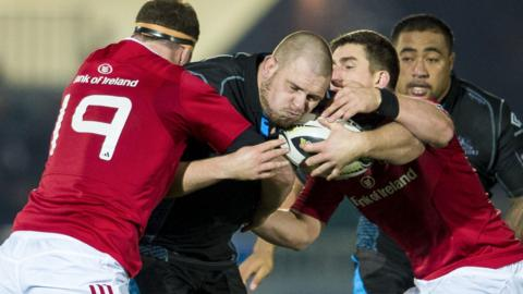 Munster defended aggressively to win at Scotstoun