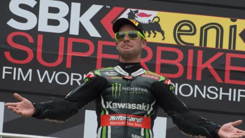 Jonathan Rea was a regular on the top step of the podium as he comfortably won the World Superbike Championship on a Kawasaki