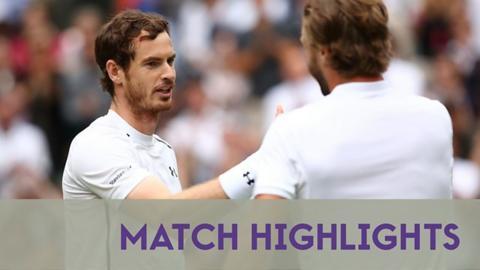 Highlights: Murray wins battle of Brits