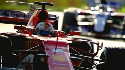 Sebastian Vettel wins the Australian Grand Prix
