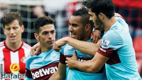 Antonio gives West Ham 1-0 win over Sunderland