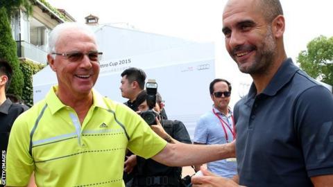 Franz Beckenbauer is the honorary president of Bayern Munich