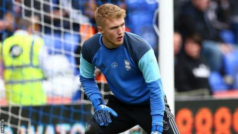 Birmingham City Under-23s keeper Connal Trueman