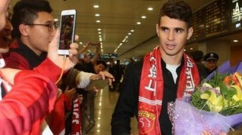 Oscar arrived in Shanghai this week