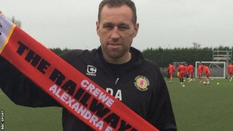 David Artell came in to replace the sacked Steve Davis as Crewe Alexandra manager in January