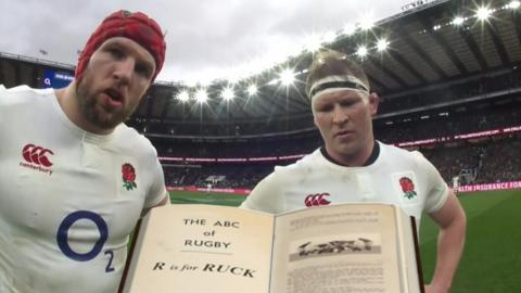 James Haskell and Dylan Hartley