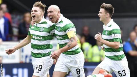Celtic are within touching distance of the title