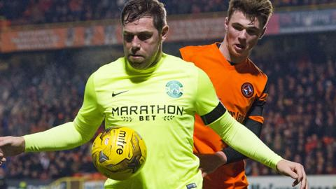 Hibs striker Grant Holt
