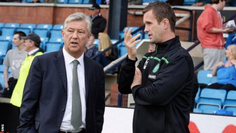 Peter Lawwell and Ronny Deila