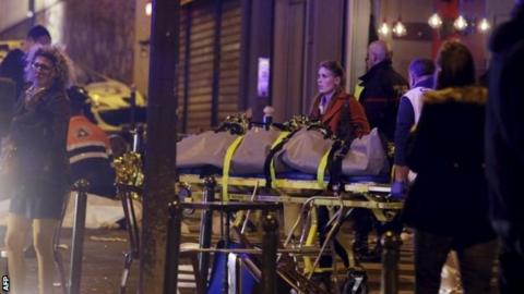 French president Francois Hollande declared three days of national mourning after the attack