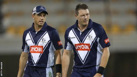 James Pattinson (left) and older brother Darren