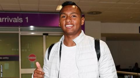 Rangers confirm Alfredo Morelos signing on three-year contract