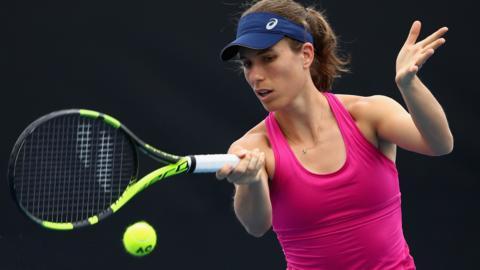 Johanna Konta of Great Britain