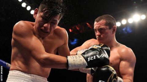 Scott Quigg and Jose Cayetano