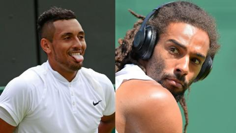Dustin Brown v Nick Kyrgios