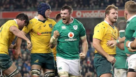 Ireland locked in for June rugby visit