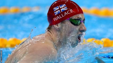 Dan Wallace won a silver medal in the 4x200m freestyle relay at the 2016 Olympics