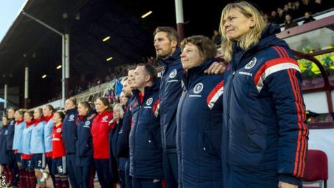 Swedish-born Anna Signeul has been Scotland coach since 2005