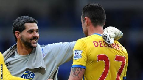 Julian Speroni and Damien Delaney
