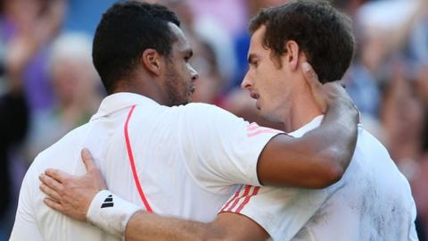Wimbledon: Men's quarter-finals